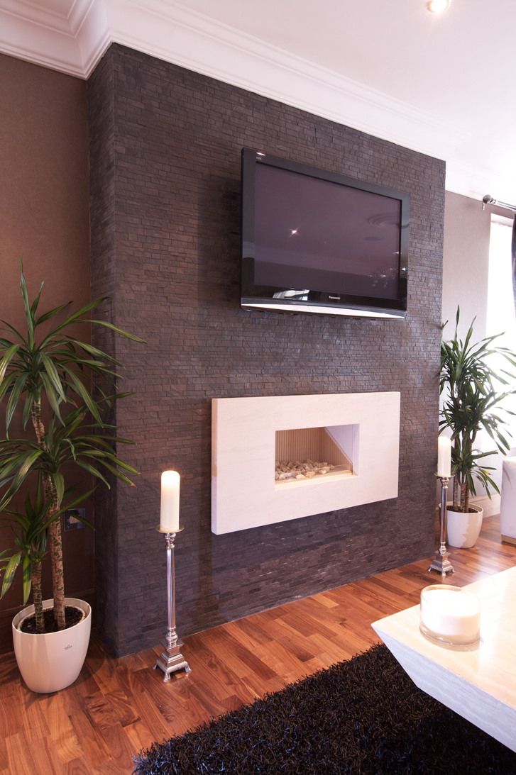 Tiles design the tile and stone blog for Tiled chimney breast images